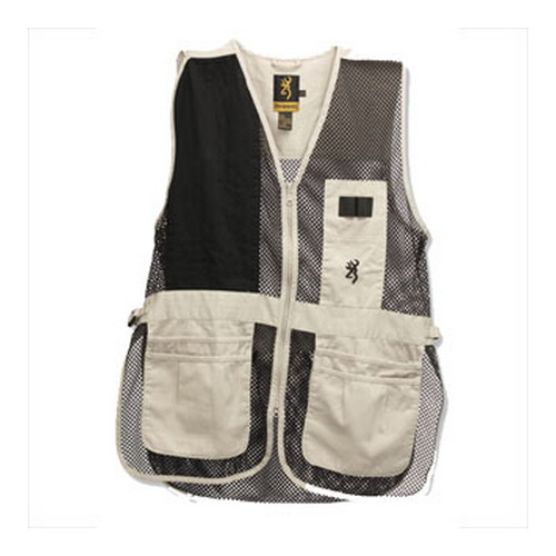 Browning Browning Trapper Creek Vest Sand/Black Medium 3050262802