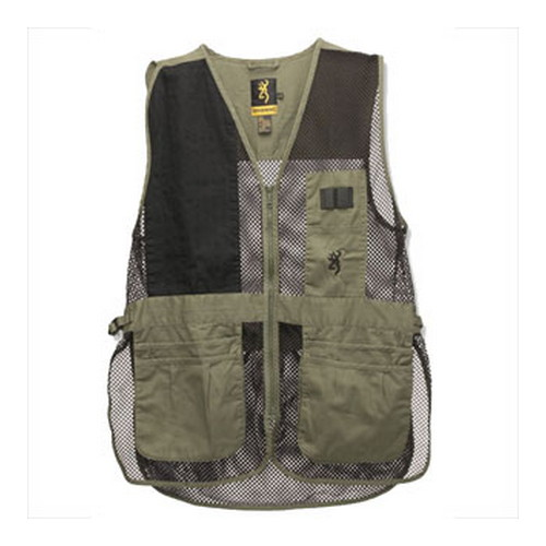 Browning Browning Trapper Creek Vest Sage/Black Small 3050265401
