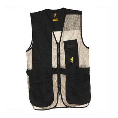 Browning Browning Trapper Creek Vest Black/Tan XXX-Large 3050268906