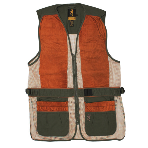 Browning Browning Sandoval Vest Olive/Tan Small 3050285401