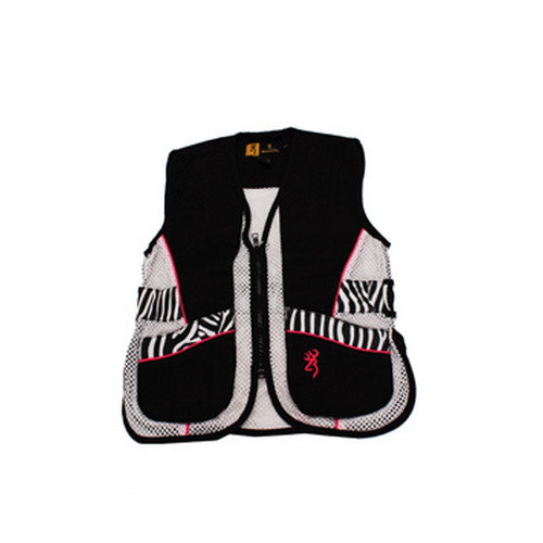 Browning Browning Lady Sahara Black/Zebra Vest Youth, Small 3050543901