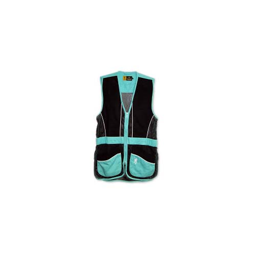 Browning Lady Vest Sandoval Aqua/Black Large 3050707503