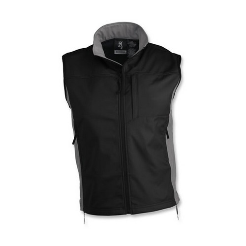 Browning Tracer Vest Black/Gray Medium