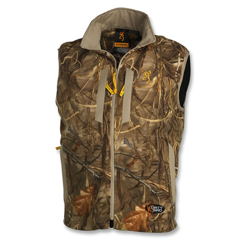Browning Browning Dirtybird Fleece Vest, Realtree Max4 Camo Small 3056042201