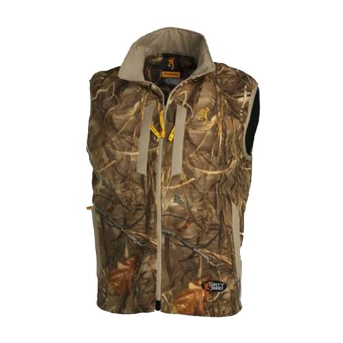 Browning Browning Dirtybird Fleece Vest, Mossy Oak Shadow Grass Small 3056042501
