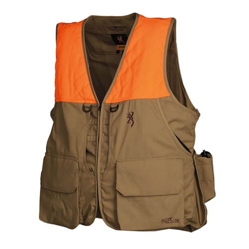 Browning Bird-N-Lite Vest, Khaki Small