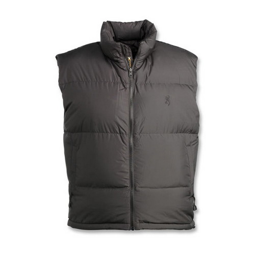 Browning Browning Down 650 Vest, Black XXX-Large 3057549006