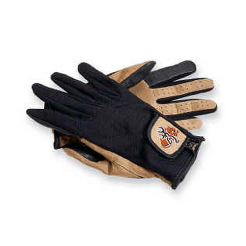 Browning Browning Mesh Back Shooting Gloves Tan/Black, Large 3070118803