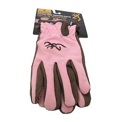 Browning Browning Trapper Creek Gloves Brown/Pink Large 3070148803