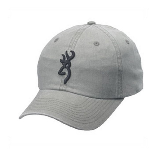 Browning Browning Shrike Hat with 3D Buckmark Sage/Black 308004541