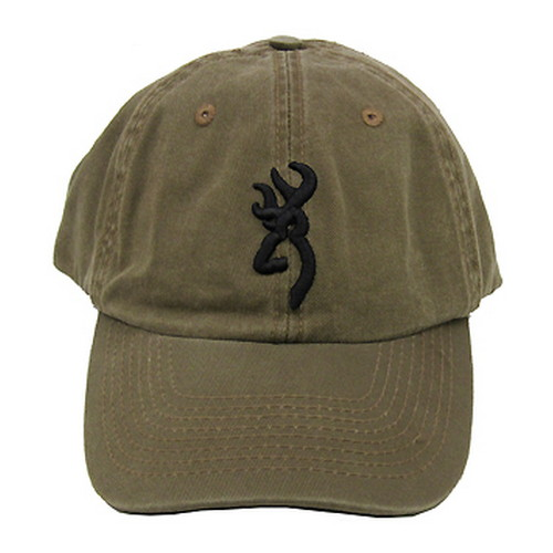 Browning Browning Shrike Hat with 3D Buckmark Clay/Black 308004681