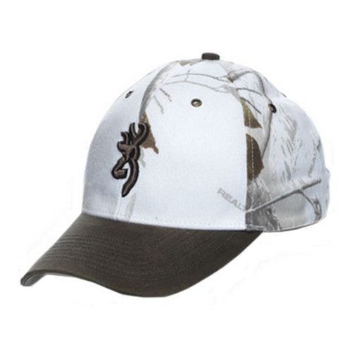 Browning Browning Northfork Twill Hat Realtree Snow 308005271
