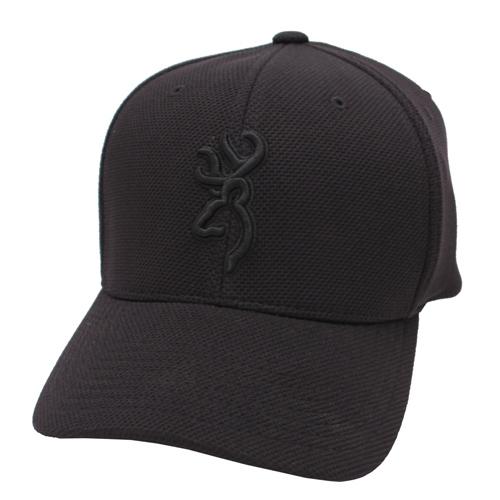 Browning Browning Coronado Pique Cap Black, Small/Medium 308007992