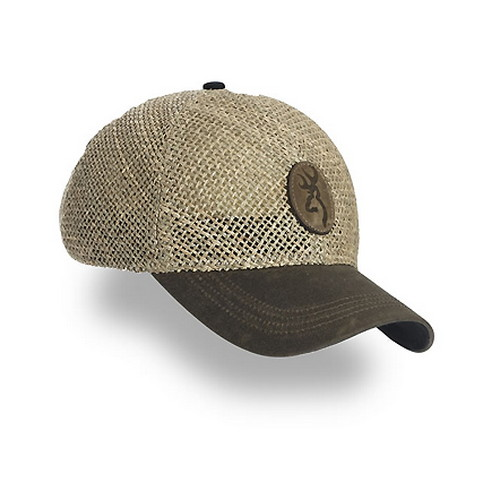 Browning Browning Straw w/Repeltex Brim, Brown 308106881