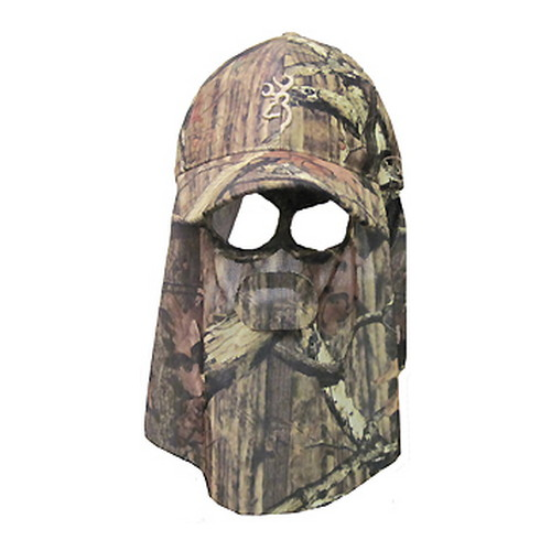 Browning Facemask, Quick Camo Hat Mossy Oak Infinity