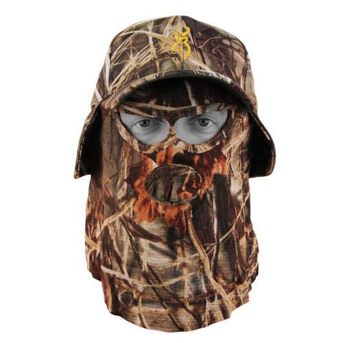 Browning Browning Facemask, Quick Camo Hat Realtree Max 4 308128221