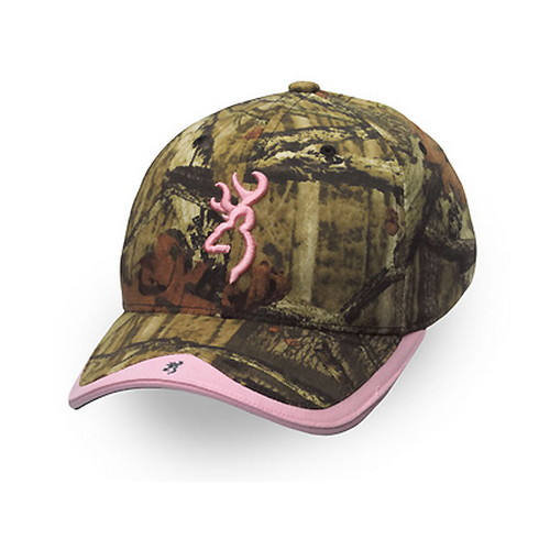 Browning Browning Gunner Camo Hat Mossy Oak Infinity/Pink 308129202