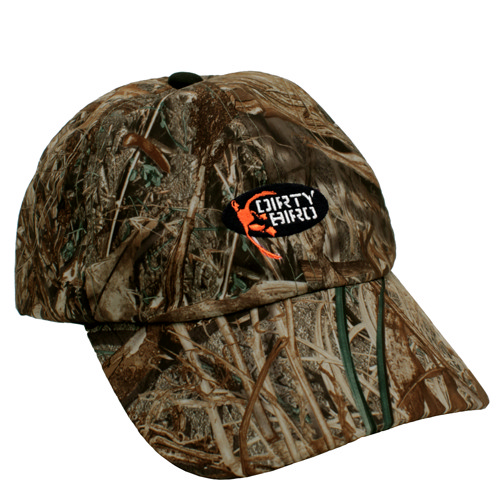 Browning Dirty Bird Cap Duck Back Mossy Oak Duck Blind 6 3/4