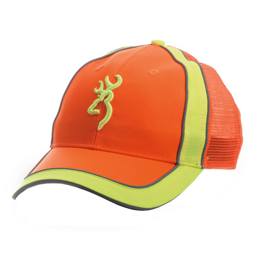Browning Browning Polson Meshback Cap Blaze/Safety 308134013