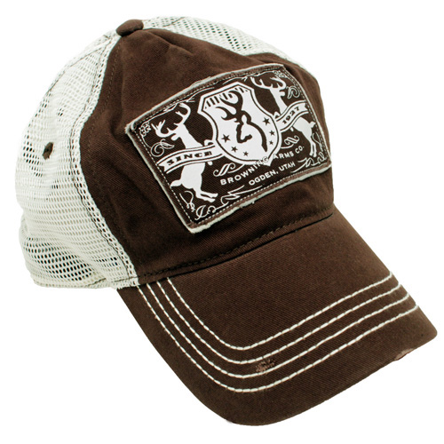 Browning Browning Crop Duster Meshback Brown Cap 308233881
