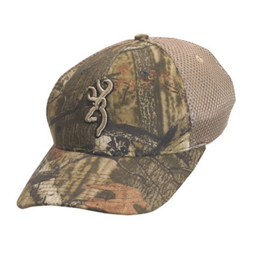 Browning Browning Breeze Mesh Back Cap Youth, Mossy Oak Infinity/Tan 30832520Y