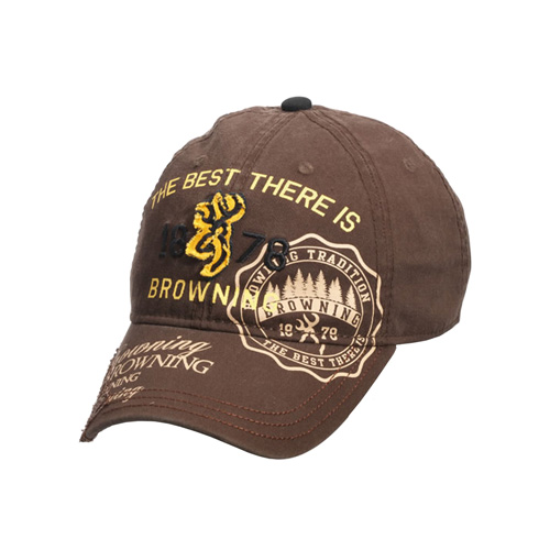 Browning Adonis 1878 Cap Brown