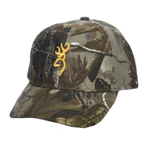 Browning Rimfire 3D Buckmark Cap Youth, Realtree AP