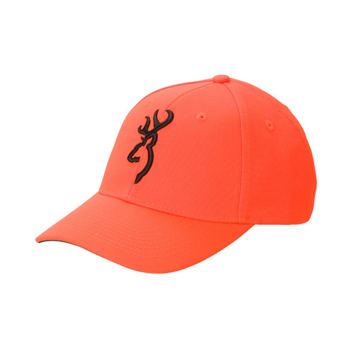 Browning Browning Safety Cap w/3-D Buck Blaze/Black 30840501