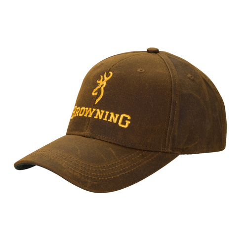 Browning Browning Dura-Wax Cap Brown, Solid Color 3084121