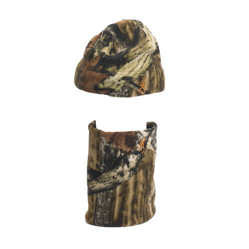 Browning Browning Beanie w/Neck Gator Mossy Oak Infinity 308505201