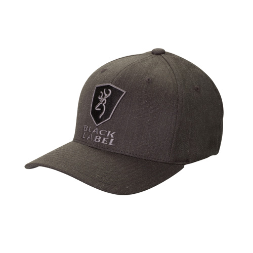 Browning Bravo Twill FlexFit Gray Cap Large/X-Large