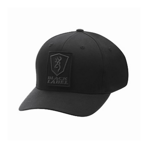 Browning Charlie FlexFit Black Cap Small/Medium