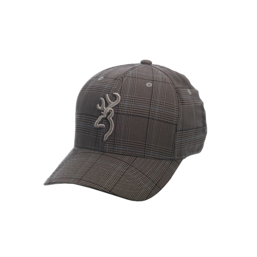 Browning Browning Glenn's Plaid Cap Brown, Large/X-Large 308700384