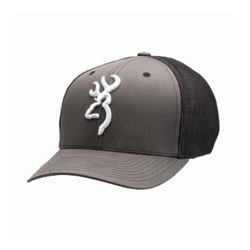 Browning Browning Colstrip Flex Fit Cap Gray Small/Medium 308702892