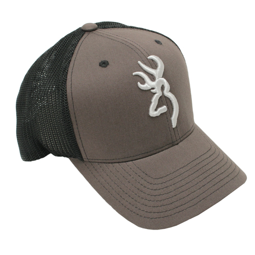 Browning Browning Colstrip Flex Fit Cap Gray Large/X-Large 308702894