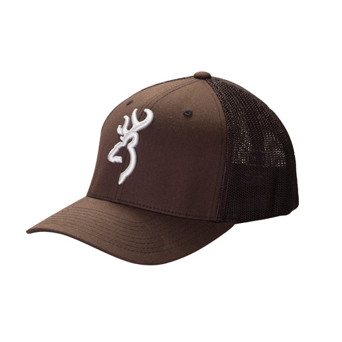 Browning Browning Colstrip Flex Fit Cap Brown Small/Medium 308702982