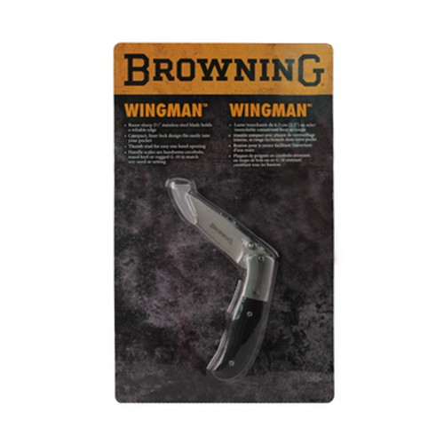 Browning Browning Wingman Folding Knife Black G-10 322429