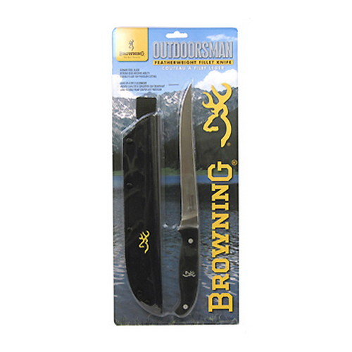 Browning Outdoorsman Fillet, Black