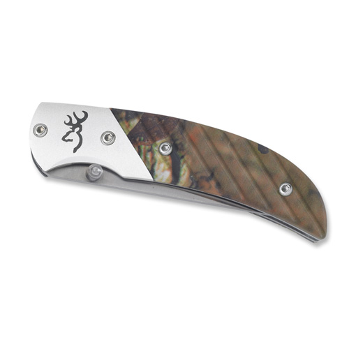 Browning Browning Prism II Knife Mountain Titanium/Mossy Oak Infinity 3225672