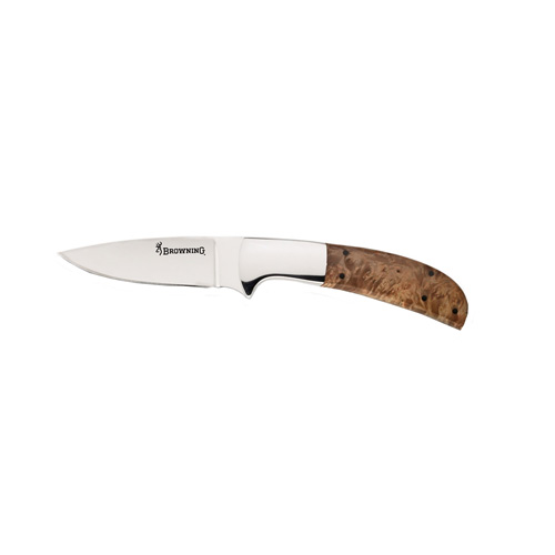 Browning Browning Escalade Series Knife Drop Point, Brown 322664