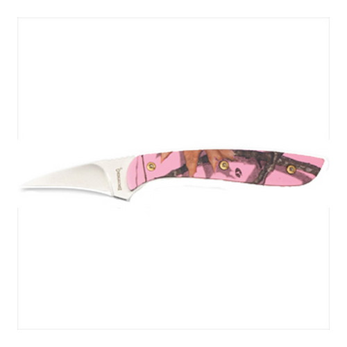 Browning Browning Spur Neck Knife Mossy Oak Pink 322717B