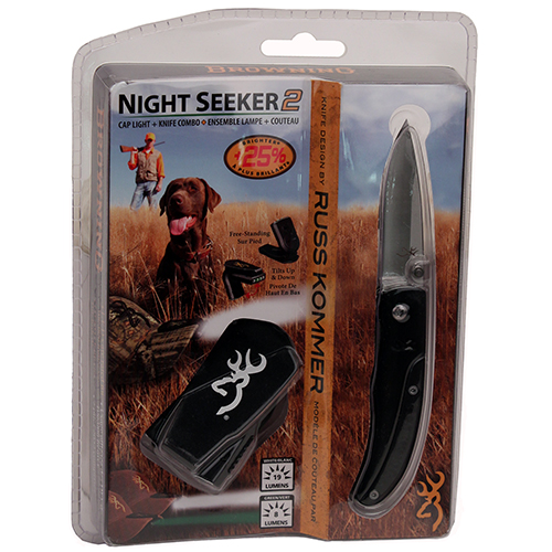 Browning Night Seeker Black, with Knife
