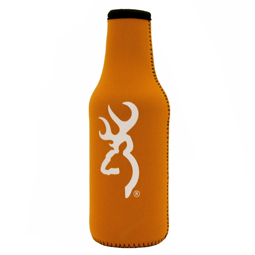 AES Outdoors AES Outdoors Browning Bottle Coozie Orange/White BR-BTL-OW