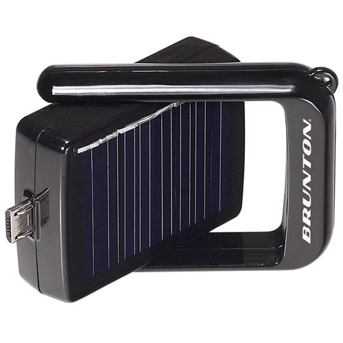 Brunton Brunton Bump Power Pack 550 mAh Rechargeable Battery w/Solar Panal Apple F-BUMP-APL