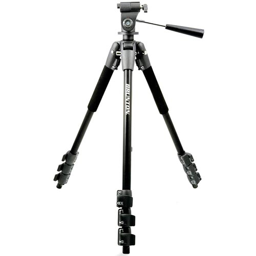 Brunton Full-Size Tubular Aluminum Tripod w/Removeable Head