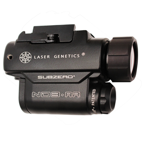 Laser Genetics Adjustable Beam Light, Personal Protection, AR/M4 Mount