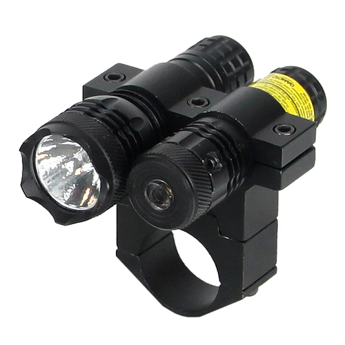 BSA BSA 650nM Red Laser w/80 Lumen Light, 1