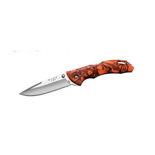 Buck Knives Bantam 7420 Orange Head Hunterz Camo