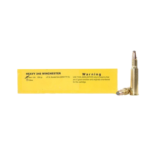 Buffalo Bore Ammunition Buffalo Bore Ammunition Heavy 348 Winchester 250 Gr JFN (Per 20) 12A/20