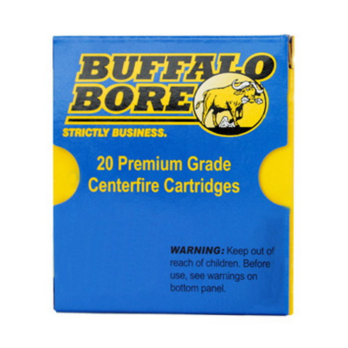 Buffalo Bore Ammunition Buffalo Bore Ammunition SubSonic Low Flash Heavy 9mm 147 Gr JHP (Per 20) 24I/20